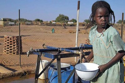 Aid officials are worried about a shortage of safe water in the Dogdore area of eastern Chad