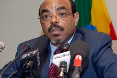 Former PM the Late Meles Zenawi.