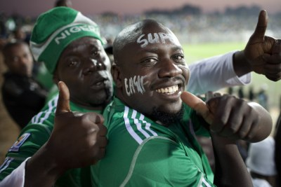 Nigeria Super Eagles football fans (File Photo)