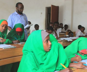 Schools Re-Open in Somalia