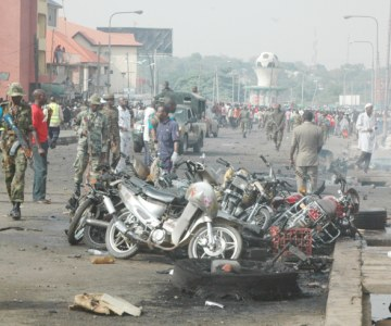 Bomb Explosion on Easter Sunday in Nigeria