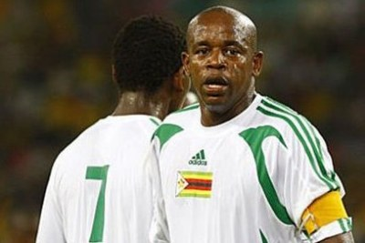 Zimbabwean international midfielder Esrom Nyandoro
