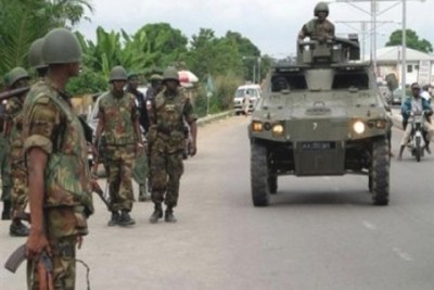 Soldiers deployed in Plateau