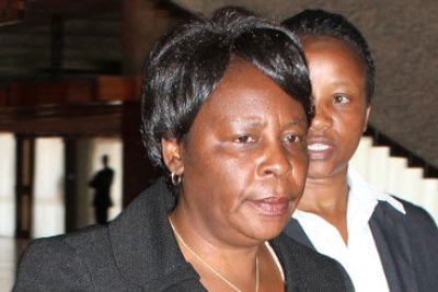 Suspended Deputy Chief Justice Nancy Baraza has 10 days within which she can challenge the decision of the tribunal (file photo).