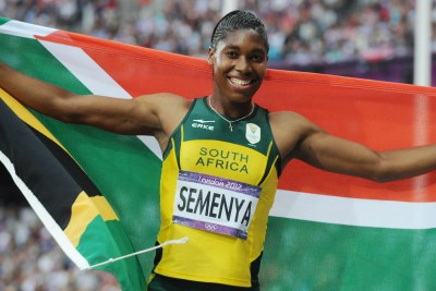 South Africa's Caster Semenya (file photo).