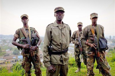 Congo rebels (file photo).