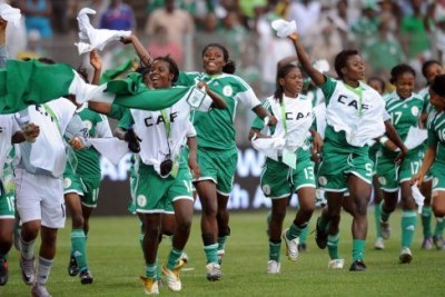 Les Super Falcons du Nigeria à la CAN 2012