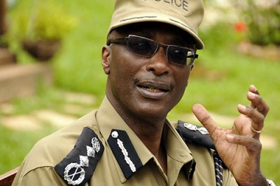 Police Chief The Inspector General of Police Maj. Gen. Kale Kayihura