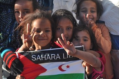 Saharawi children (file photo).