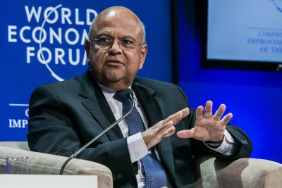 Pravin Gordhan, former minister of finance (file photo).