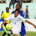Lesotho And Swaziland Contesting The Cosafa Cup At The 2013 Tournament in Zambia