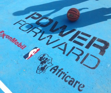 NBA, Africare and ExxonMobil Launch 'Power Forward' Basketball Initiative