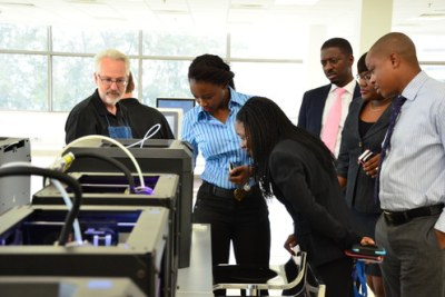 GE Garages Nigeria ran from 23 June to 11 July at GE's regional headquarters in Lagos, and featured curated speakers sessions and workshops amidst a fully equipped fab lab.