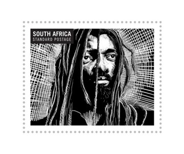 South African Music Legends - Postage Stamps