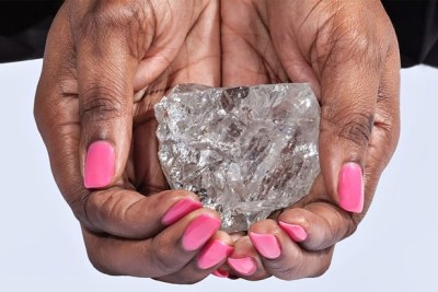 The Lucara diamond, measuring 1,111 carats, is the second-largest high-quality diamond ever discovered on Earth.