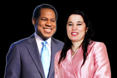 Pastor Chris and ex-wife Anita.