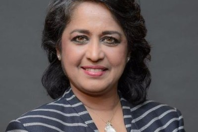 The 6th President of the Republic of Mauritius, Ameenah Gurib-Fakim.