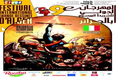 9th International Comic Strip Festival opens in Algiers.