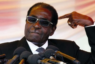President Robert Mugabe (file photo).