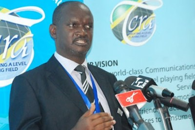 Tanzania Communications Regulatory Authority Director General James Kilaba.