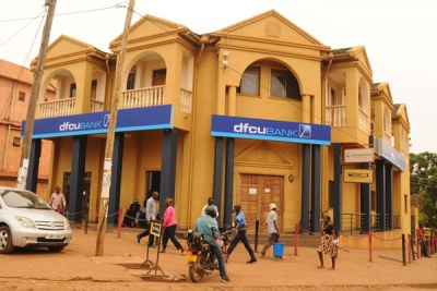 Former Crane Bank Ntinda branch has now been rebranded dfcu Bank. In places where the two banks had branches, they have been merged.