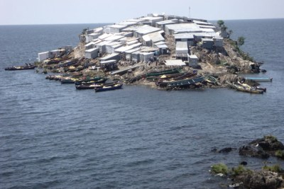 Migingo Island lies in both Uganda and Kenya waters and this has created disputes regarding its ownership.
