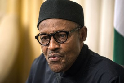 President Muhammadu Buhari (file photo).
