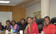 Celebrating Valentine's Day in Kenya with A Women In Tech Forum