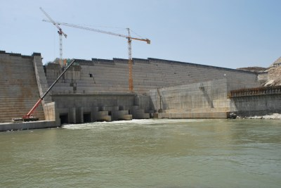 The Grand Renaissance Dam or GERD.