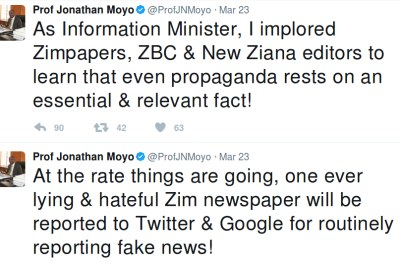 Minister Moyo Moyo rails against The Herald.