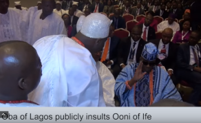 Nigerians Blast Oba of Lagos for Snubbing Ooni of Ife