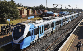 South Africa's 'People's Train' Ready to Leave the Station