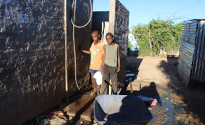 Namibian Township Fetches Drinking Water From Toilets
