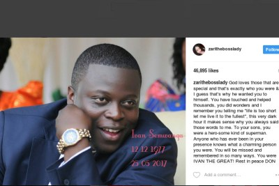 Flamboyant Ugandan businessman and socialite Ivan Semwanga was recently rushed to a South African hospital in critical condition.