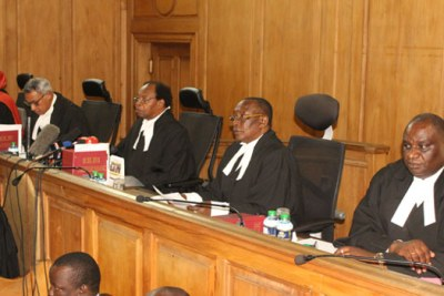 Judges before the Court of Appeal.
