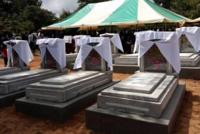 July 20 tombstones unveiled.