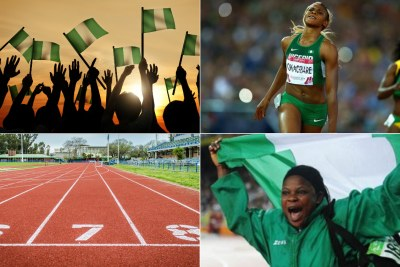 Blessing Okagbare, the golden athlete on whom all hope is pinned, Iyiazi Eucharia, discus thrower.
