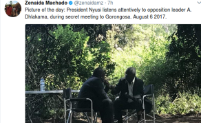 Mozambican President Meets Renamo's Dhlakama in Jungle Hideout