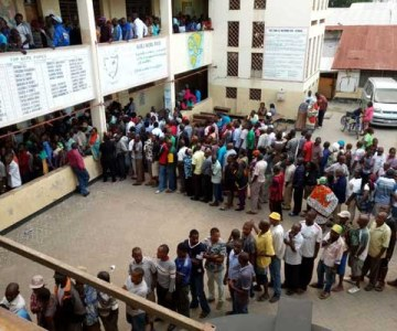 Kenyans Go To the Polls - PHOTOS