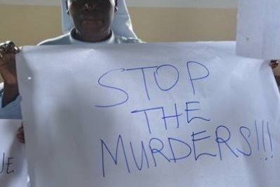 The Uganda Women's Network protests the killings.