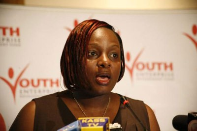 Former Youth Enterprise Development Fund Chief Executive Officer Catherine Namuye.