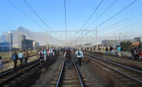 South African Train Corporation on the 'Brink of Collapse'?