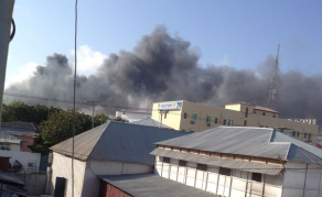 Huge Explosion Hits Somali Capital Mogadishu