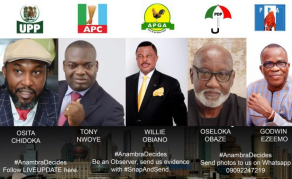 Hot Contest in Nigeria's Anambra State Governor Race