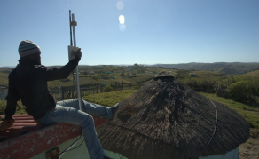 Rural South African Community Develops Solar-Powered Network