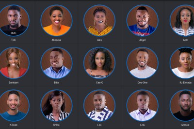 Big Brother Naija housemates