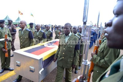 President Yoweri Museveni on Tuesday said that 36 al-Shabaab militants had been killed, while the Islamists claimed in a statement to have killed 59 Ugandan soldiers.