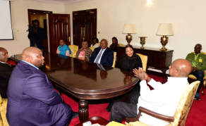 Museveni Meets Ramaphosa's Son After Dowry Talks with Family
