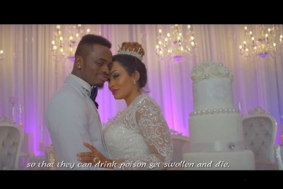 Diamond Platnumz releases Iyena video featuring Zari.