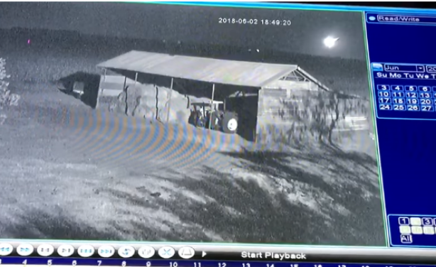 South African farmer captures moment space rock hurtles towards farm